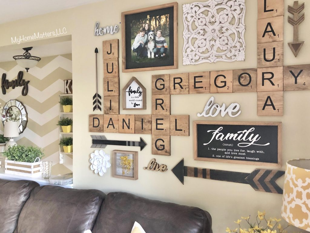 personalized wall collage