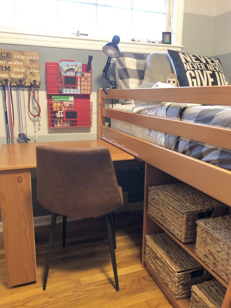 loft bed with pull out desk