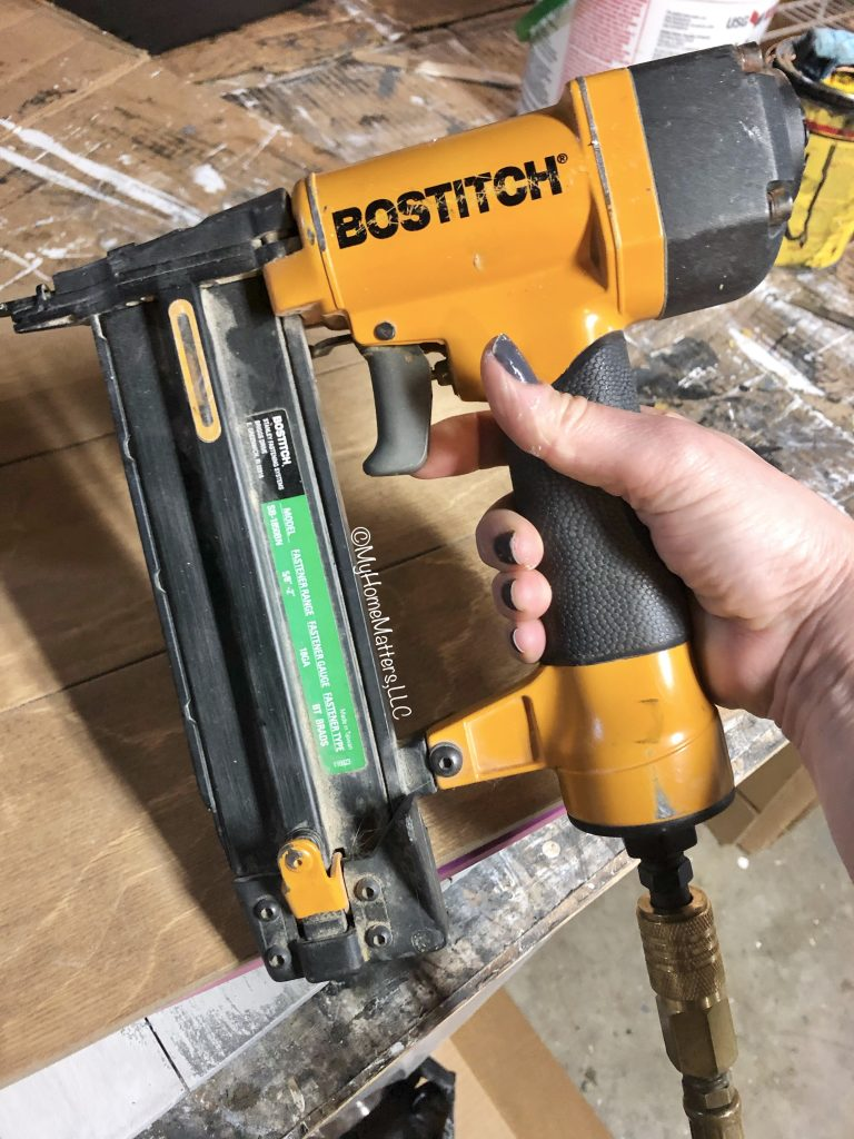 pneumatic nailer made by Bostitch
