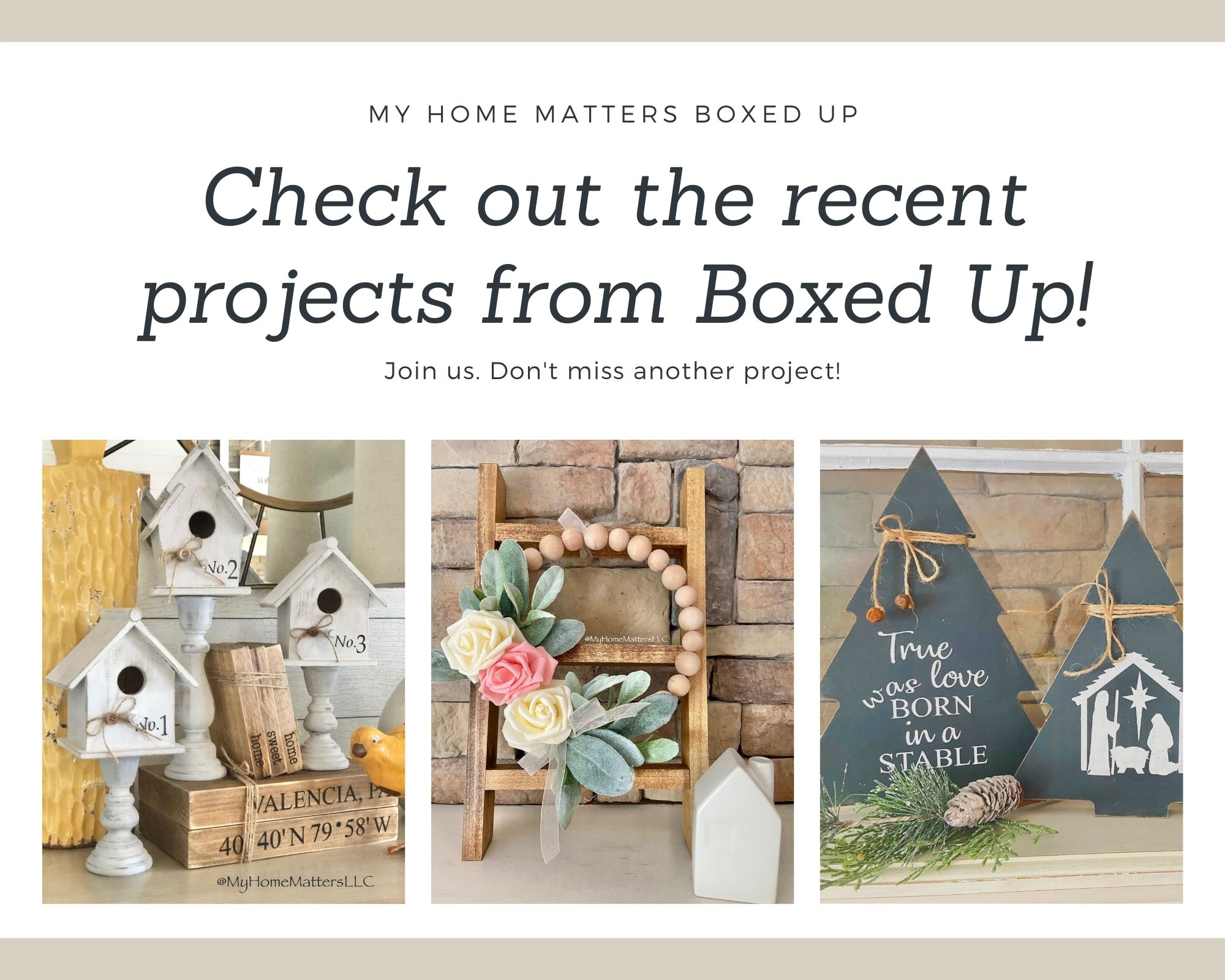 Check out the recent projects from Boxed Up! (3)